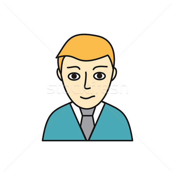Young Man Avatar Icon Stock photo © robuart
