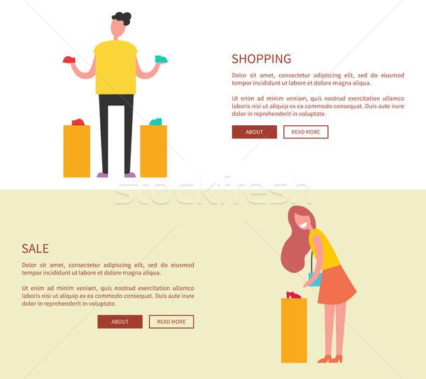 Winkelen internet plaats procede Stockfoto © robuart