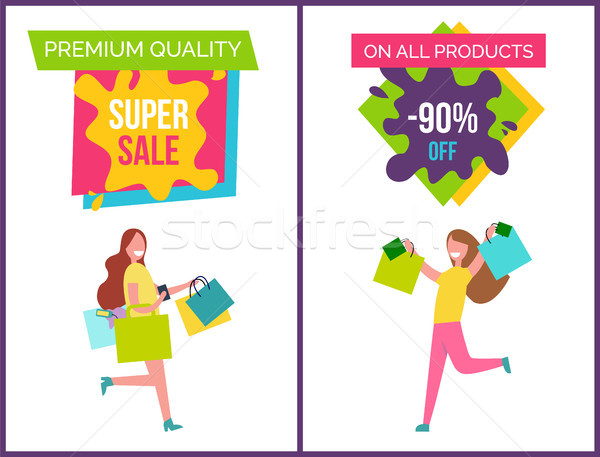 Prime qualité super vente tous produits Photo stock © robuart