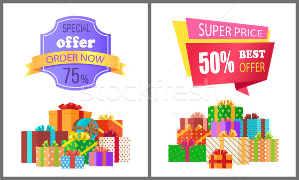 Order Now Special Exclusive Offer Super Price Sale Stock photo © robuart