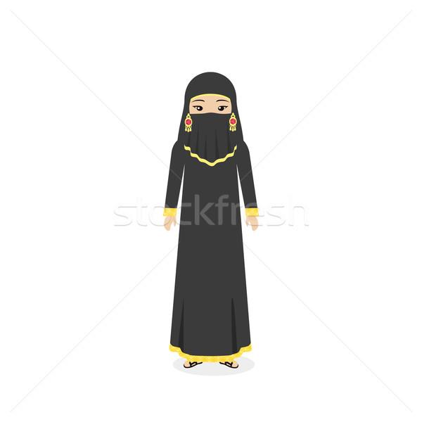 Szaúd-Arábia hagyományos ruházat emberek arab arab Stock fotó © robuart