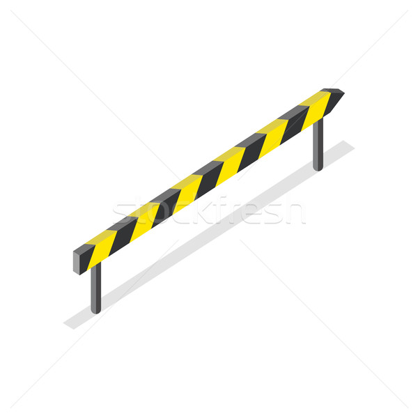 Road Construction, Roadblock Sign Stock photo © robuart