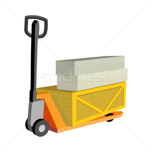 Transportation Oversized and Heavy Goods Stock photo © robuart