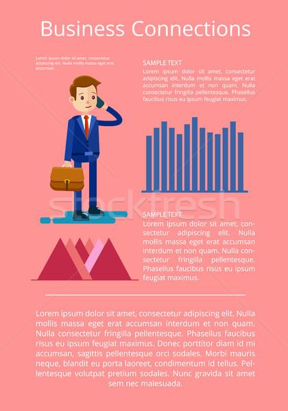 бизнеса данные интерпретация счастливым Сток-фото © robuart