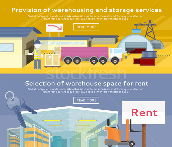 Warehouse Storage Service Product Stock photo © robuart