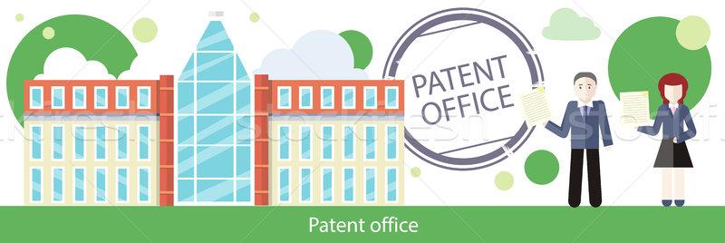 патент служба дизайна человека женщину Сток-фото © robuart