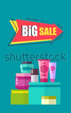 Special Offer for Decorative Cosmetics Poster Stock photo © robuart