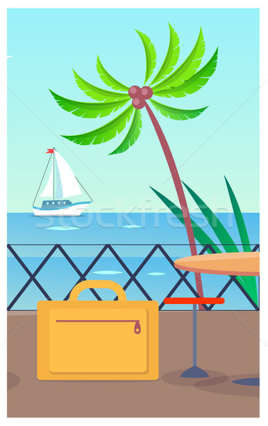 Business Travelling Baggage Vector Illustration Stock photo © robuart