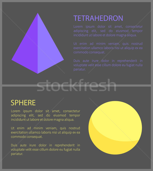 球 黒 背景 孤立した 幾何学的な オーブ ストックフォト © robuart