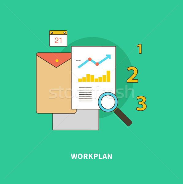 ステージ ビジネス プロセス フォーメーション 手順 Webデザイン ストックフォト © robuart