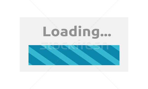 Loading Icon Isolated Stock photo © robuart