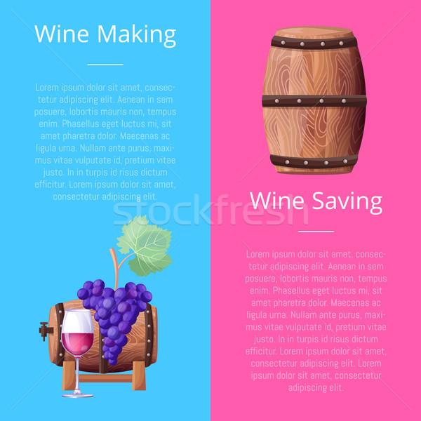 вино винограда Сток-фото © robuart
