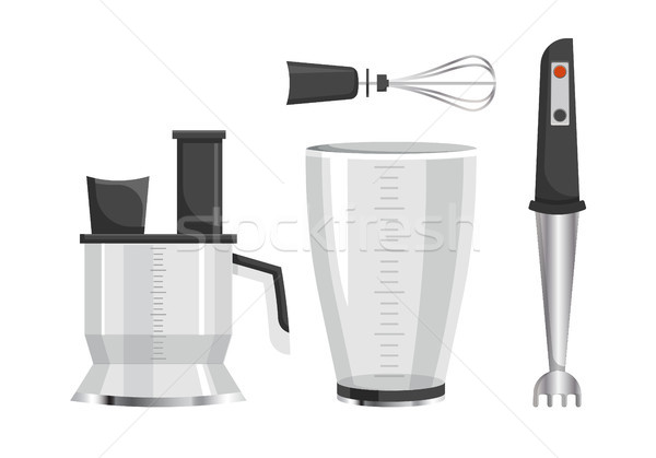 Modern Electric Kitchen Appliances for Cooking Stock photo © robuart