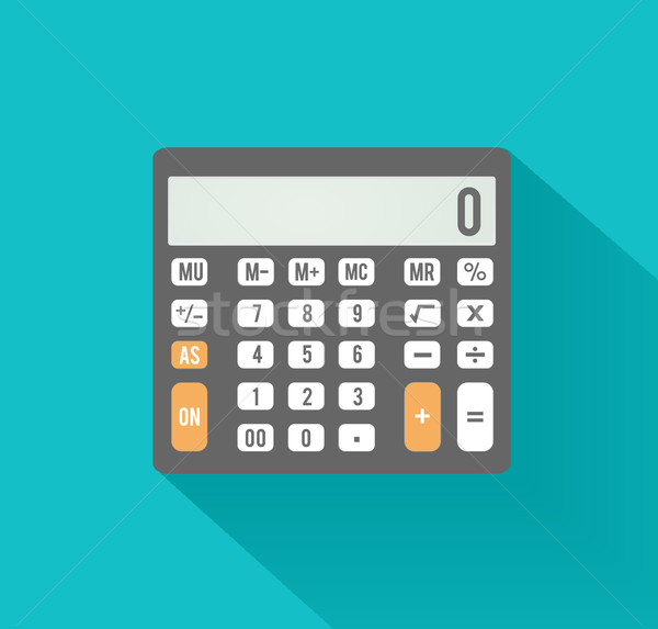 Calculator icon. Business concept with mathematics Stock photo © robuart