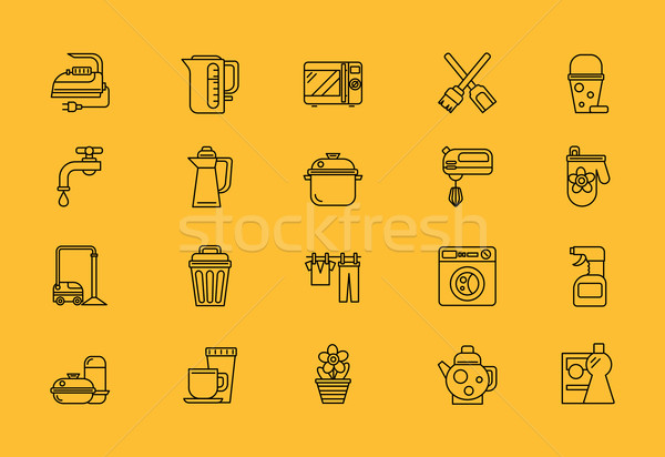 Food Cooking Tools, Home Appliance Stock photo © robuart