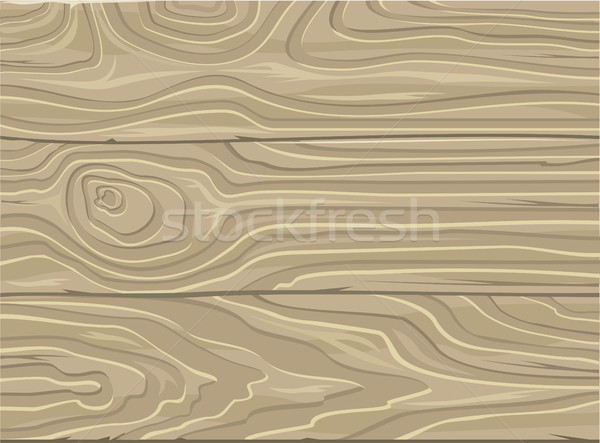 Natural Wooden Background. Wood Texture. Vector Stock photo © robuart