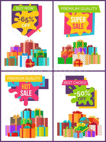 Chaud vente prime qualité annonce Photo stock © robuart