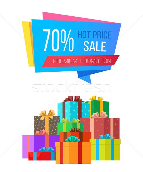 Prémium promóció vásár forró ár különleges Stock fotó © robuart