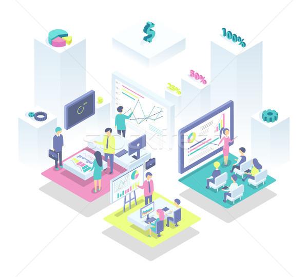 生産的な チームワーク レシピ 成功 グラフィックス ストックフォト © robuart