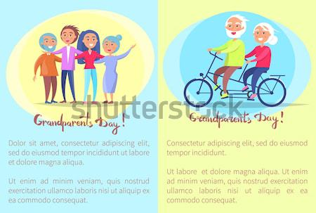 Great Team and Teamwork Set Vector Illustration Stock photo © robuart