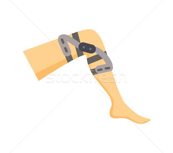 Gamba speciale medicina umani ginocchio ortopedico Foto d'archivio © robuart