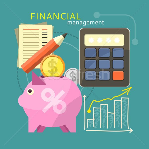 Financial Management Concept Stock photo © robuart