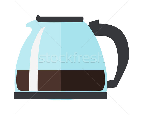 Coffee or Tea Pot Isolated on White Background Stock photo © robuart