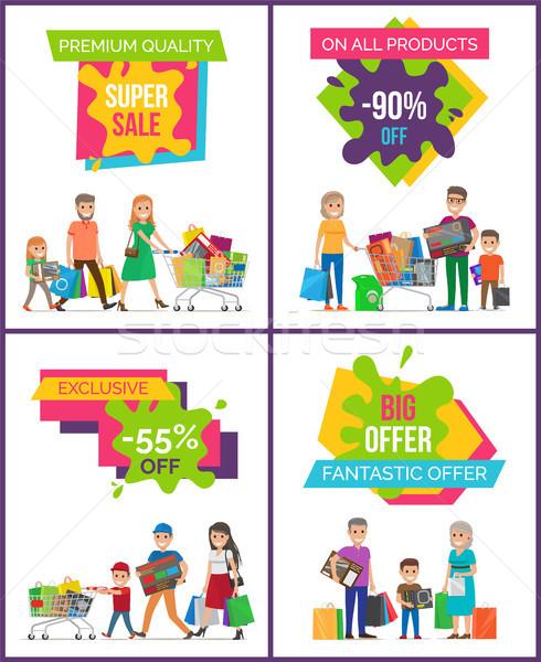 Super Sale Premium Quality Vector Illustration Stock photo © robuart