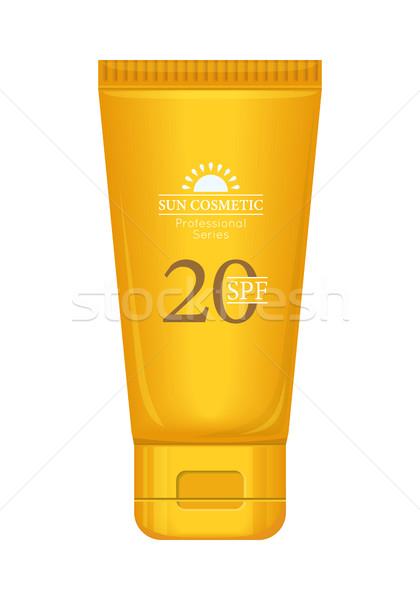 Sun Cream Professional Series Stock photo © robuart