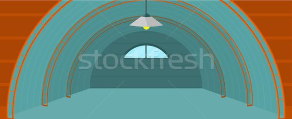 倉庫 建物 デザイン 空っぽ 広々とした ストックフォト © robuart