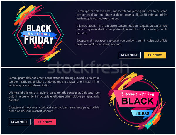 Black friday teia horizontal grande venda Foto stock © robuart
