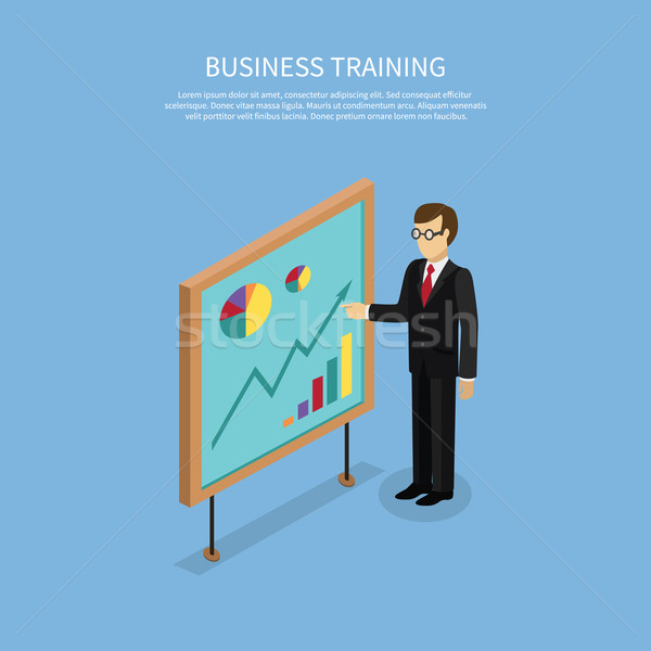 Business Taining Concept Stock photo © robuart