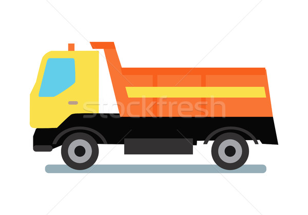 Delivery Tipper Truck Stock photo © robuart