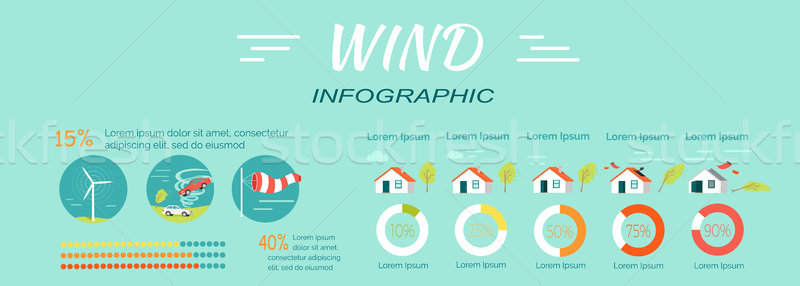 Minimal Middle Extensive Extreme Catastrophic Wind Stock photo © robuart