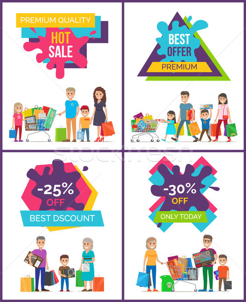 Best Discount -25 Off Sale Vector Illustration Stock photo © robuart