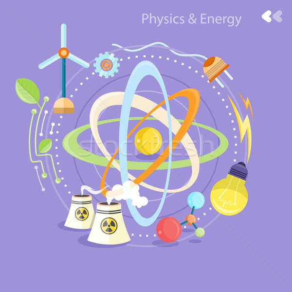 Physique énergie science chimie biologie Photo stock © robuart