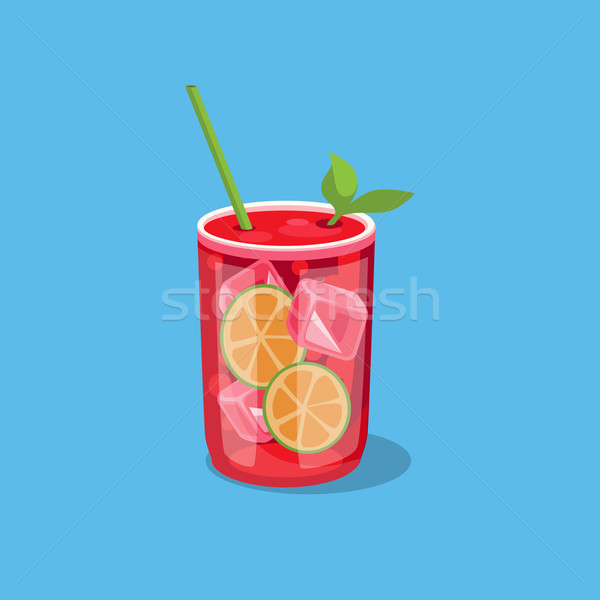 Cold Alcohol Coctail Stock photo © robuart