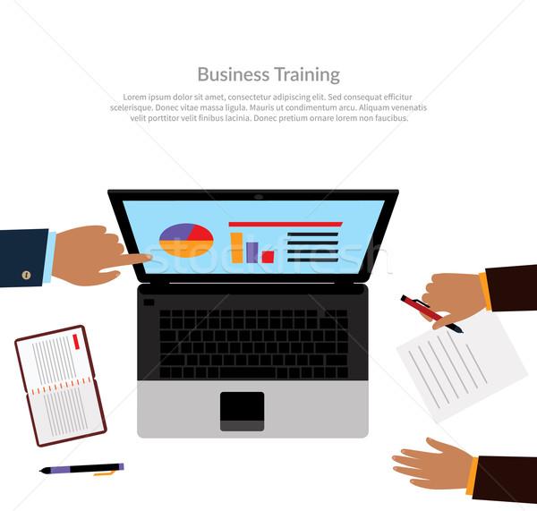 Workspace Business Training Stock photo © robuart