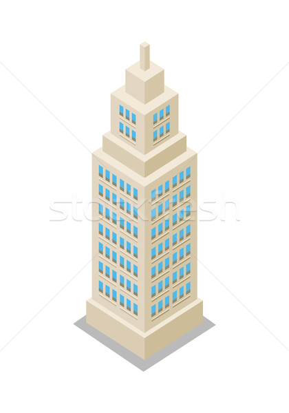 Modern Apartment Building Stock photo © robuart