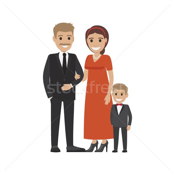 Caro tela pequeño hijo familia Foto stock © robuart