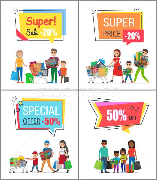 Сток-фото: супер · продажи · специальное · предложение · большой · плакатов