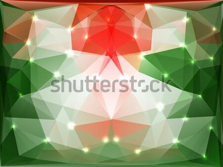 Foto stock: Abstrato · geométrico · belo · triângulo