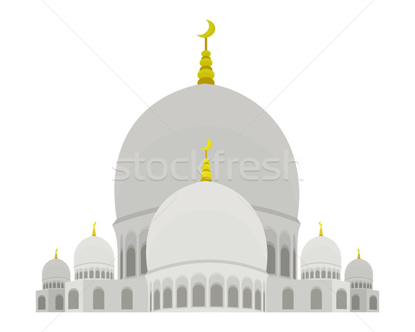 Sheikh Zayed Mosque Stock photo © robuart