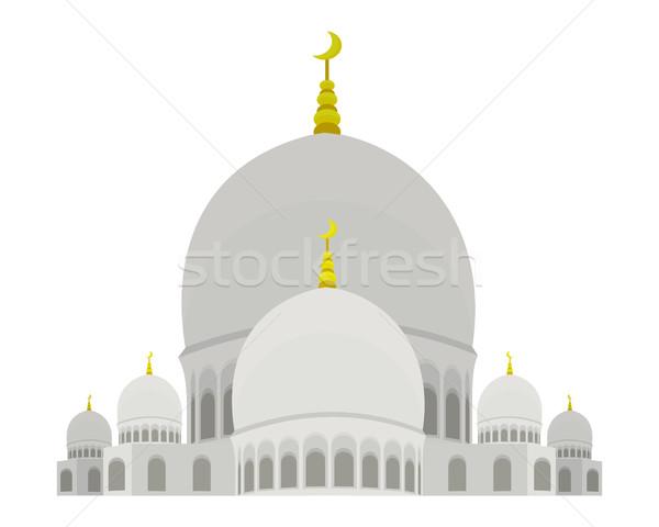 Mezquita ilustración musulmanes árabes sagrado edificio Foto stock © robuart