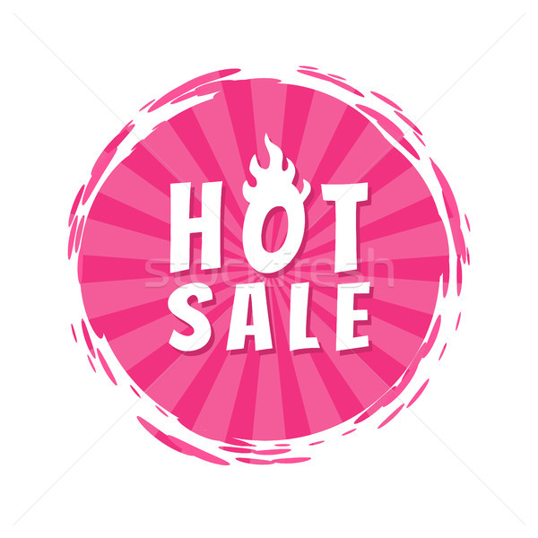Caldo vendita rosa vernice spot Foto d'archivio © robuart