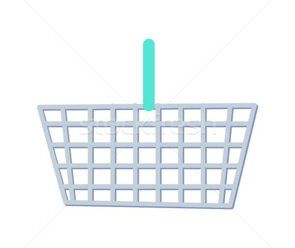 Behandelen metalen plastic zak supermarkt Stockfoto © robuart