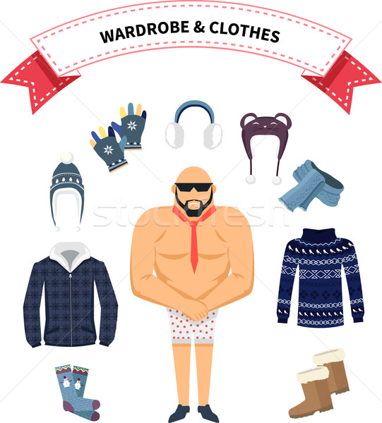 Wardrobe and Clothes Stock photo © robuart