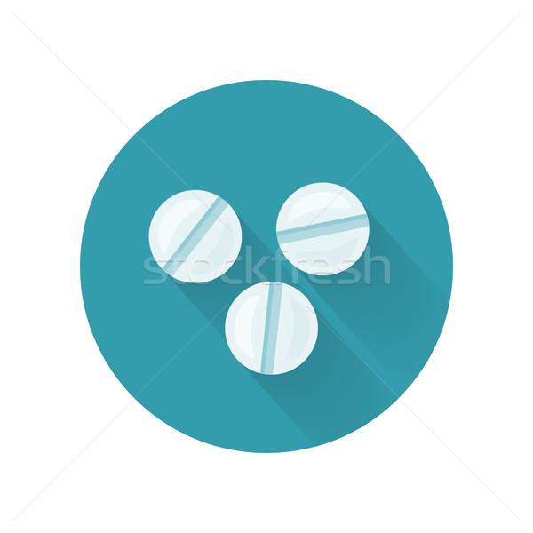 Pastillas estilo diseno variedad drogas cápsulas Foto stock © robuart