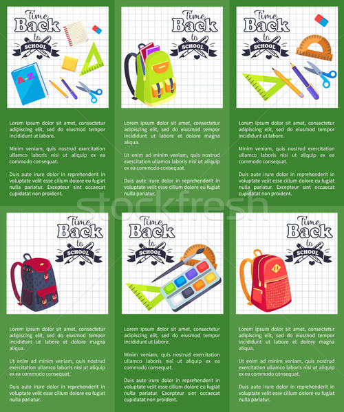 2b02c13db5f423 8718686 stock-vector-time-back-to-school-posters-with-schoolbags-books.jpg
