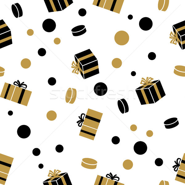 Holiday Presents Vector Seamless Pattern Stock photo © robuart